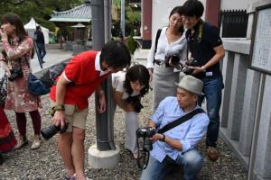 熊切大輔先生によるポートレイト撮影のレクチャー