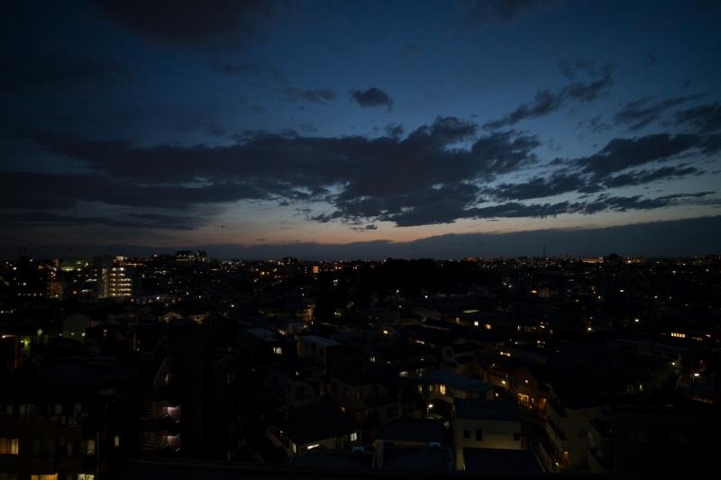レタッチ前の写真(夜景)