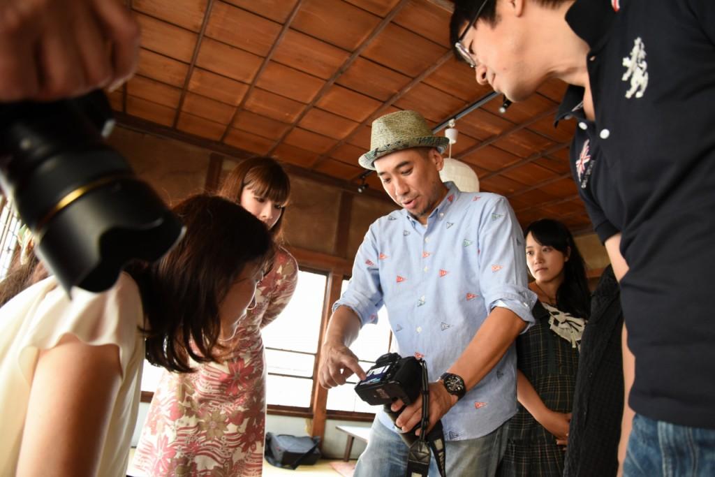 熊切大輔先生よるポートレイト撮影のレクチャー