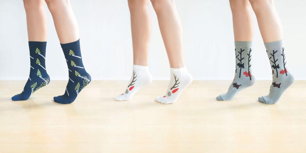『つつの靴下展』